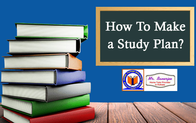 How To Make a Study Plan?